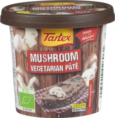 Tartex Vegetarische paté champigon 125g