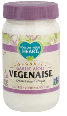 Follow Your Heart Garlic Aïoli Vegenaise® 340g *THT 25.04.2020*