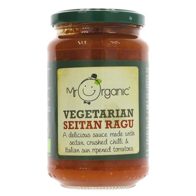 Mr Organic Seitan Ragu 350g