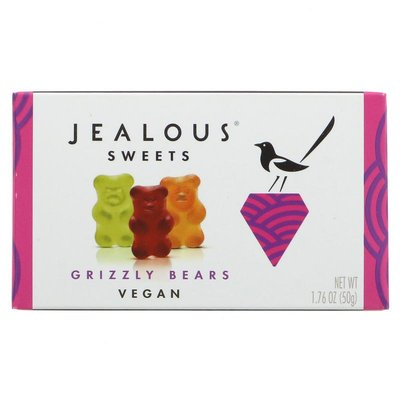 Jealous Sweets Treat Box Grizzly Bears 50g