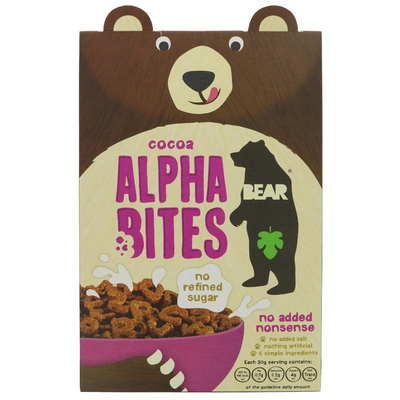 Bear Alphabites Cereal Cocoa 350g