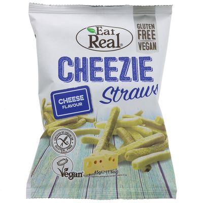 Eat Real Potato Cheezie Straws 113g