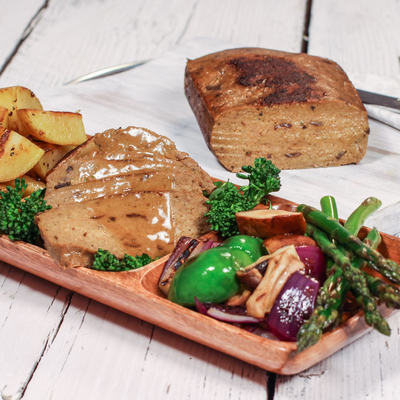Vegusto Vegi-roast, Mushroom (Steinpilz) 500g