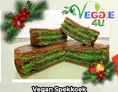 Veggie 4u Spekkoek Vegan Rond (doorsnee ca. 12 cm) ± 200g