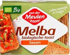 Van Der Meulen Melba toast Organic 100g