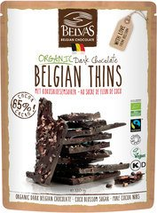 Belvas Belgian thins pure (85%) with coconut blossom sugar 120g