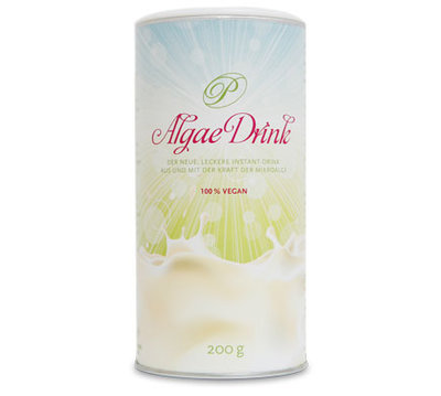 PureRaw ALGAE DRINK plus calcium unsweetened 200g