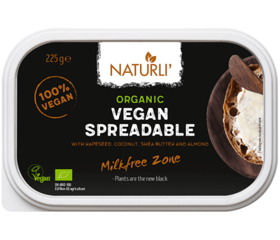 Naturli Spreadable Vegan Butter 225g