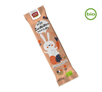 Rosengarten Organic Dark Chocolate lolly (zartbitter) 15g