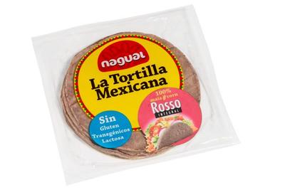 Nagual La Tortilla Mexicana Rosso (8stuks) 15cm 200g  *THT 10 april 2019*