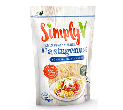 Simply V Veganer PASTAGENUSS 100g  *THT 18.12.2019*