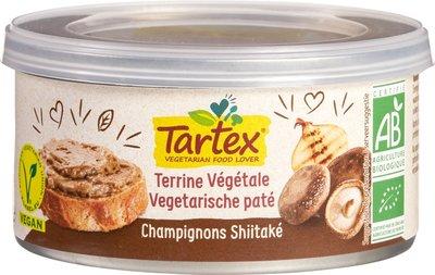 Tartex Vega paté champignon-shiitake 125g