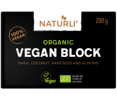 Naturli Vegan Butter block 200g