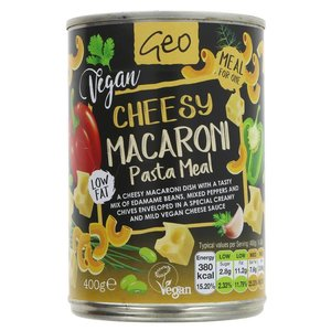 Geo Cheesy Macaroni Pasta Meal 400g
