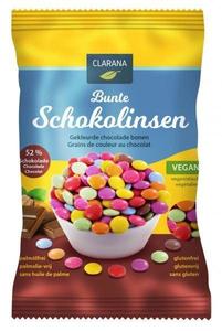 Clarana gekleurde chocolade bonen 125g