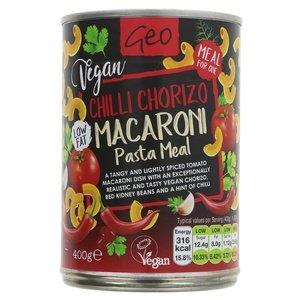 Geo Chilli Chorizo Macaroni meal 400g