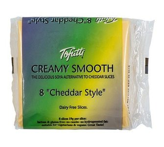 Tofutti Creamy smooth cheddar Style plakjes 150g