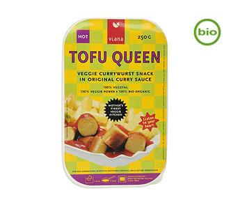 Viana TOFU QUEEN CURRYWURST Snack organic 250g
