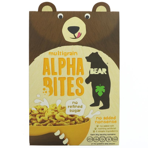 Bear Alphabites Cereal - Multigrain 350g