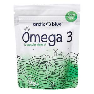 Arctic blue Omega 3 Algen(60 capsules)