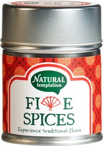 Natural Temptation Five spices kruidenmix 50g