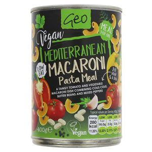 Geo Mediterranean Macaroni pasta meal 400g
