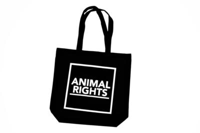 Animal Rights draagtas katoen