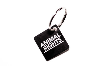 Animal Rights Sleutelhanger