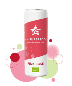 Iam Supersoda Pink Rose 250ml