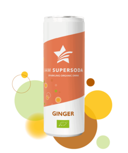 Iam Supersoda Ginger 250ml