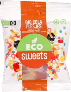 Eco Sweets Cola flesjes 75g