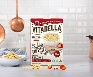 Vitabella Strawberry Pillows GF Bio 300g