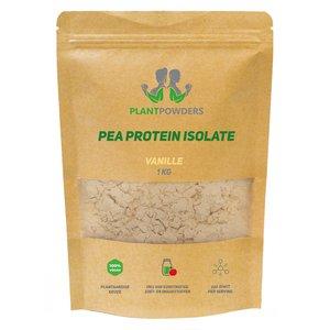 PlantPowders erwten proteïne Vanille 1kg