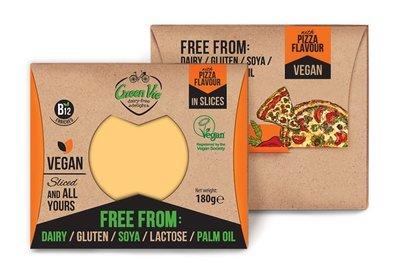 Green Vie Vegan Pizza Flavour in Slices 180g