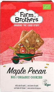 Farm Brothers Maple Pecan cookies 150g