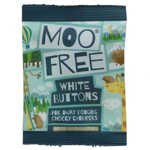 Moo Free Buttons White 25g