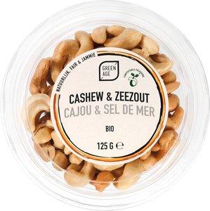 GreenAge Cashews salted 125g