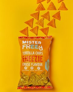 Mister Free'd Vegan Cheezie Tortilla Chips 135g