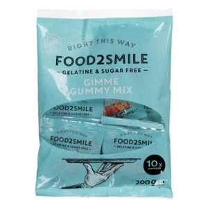 Food2smile GIMME GUMMY MIX DISPENSER BAG 10 X 20G