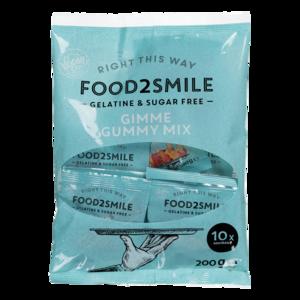 Food2smile GIMME GUMMY MIX UITDEELZAK 10 X 20G