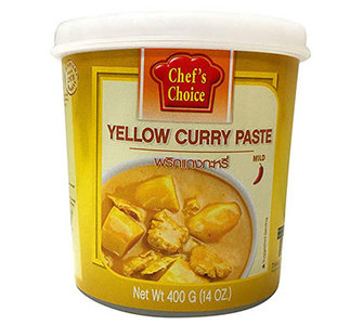 Chef's Choice Yellow Curry Paste 400g