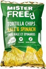 Mister Free'd Tortillachips Kale & Spinach 135g