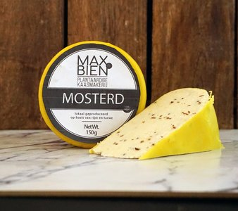 Max&Bien Mosterd Wheel 150g *THT 27.09.2021*
