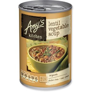 Amys Kitchen Lentil Vegetable Soup
