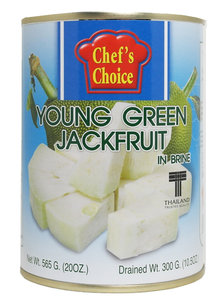 Chef's Choice Young Green Jackfruit in pekel 565g
