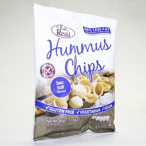 Eat Real Humus zee zout Chips 135g