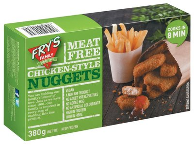 Fry's Chicken Style Nuggets 380g