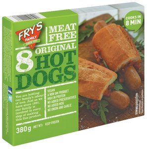 Fry's Original Hot Dogs 380g