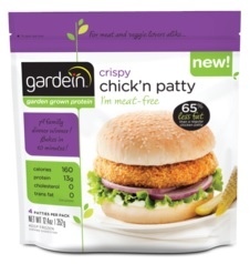 Gardein Crispy Chick'n patty 355g