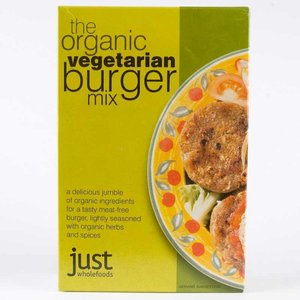 Just Wholefoods Vegetarian Burger Mix 125g